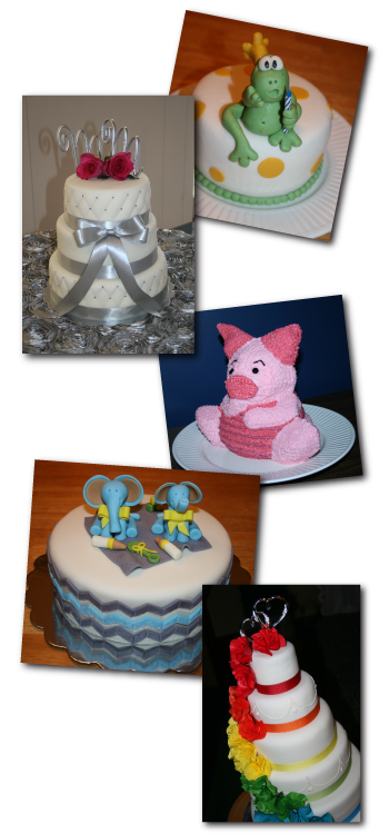 Cakes by Anna Kouwenberg, The Cake Creative