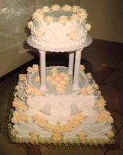 Wedding cake by my mom