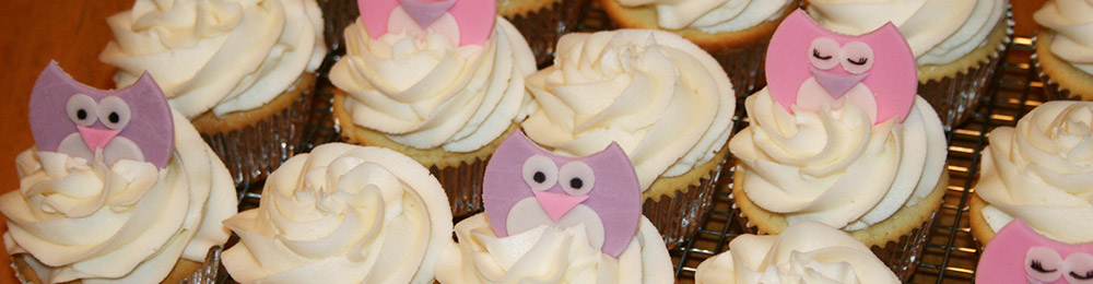 The Cake Creative - Owl Cupcakes